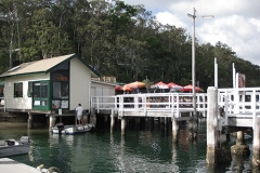 Church Point Wharf, Pittwater NSW