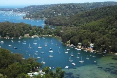 View over Pittwater, from Flagstaff Hill lookout