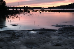 Scotland Island Sunrise at Carols Wharf
