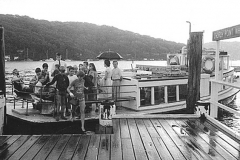A rainy day in Pittwater: the Curlew 1986