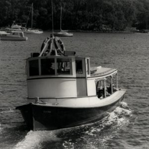 Historical Timber Ferries, Church Point Ferry Service, Pittwater NSW