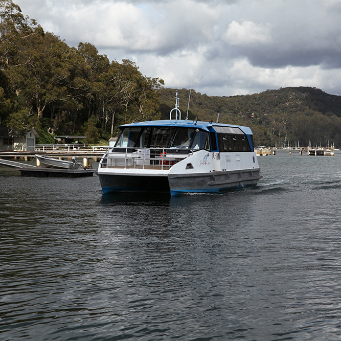 The Ferries, Church Point Ferry Service, Pittwater NSW