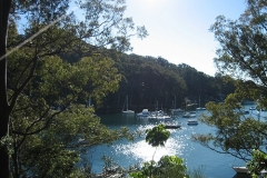 Pittwater views over Lovett Bay