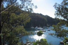 Pittwater views over Lovett Bay
