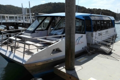 Come aboard the L Duck at Church Point, Pittwater