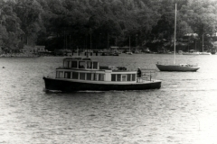 The Curlew off Scotland Island, Pittwater, 1984