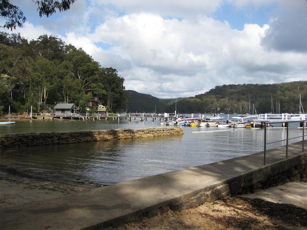 Scotland Island, Pittwater NSW - Tennis Wharf